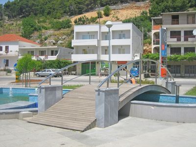 Photo for Apartments Mladen, (8520), Omiš, Omis riviera, Croatia