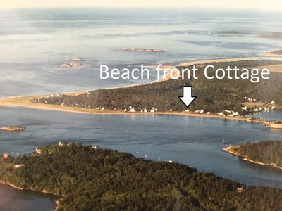Photo for Popham Beachfront And Oceanfront Cottage