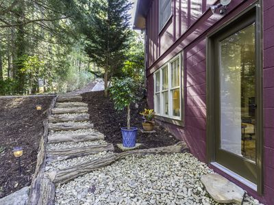 Photo for NEW! 1BR Asheville Apartment on the River with Mountain views!