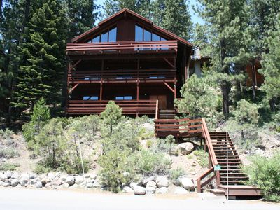 Photo for 5 bedroom, 3 bath, sleeps 14. Direct Donner Lake access DLR#053