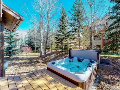Photo for NEW LISTING! Spacious mountain view home w/ hot tub, fireplace -near skiing