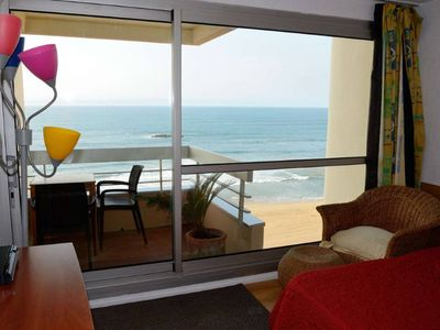 Photo for Downtown Biarritz, spectacular ocean view, terrace pool and paking lot