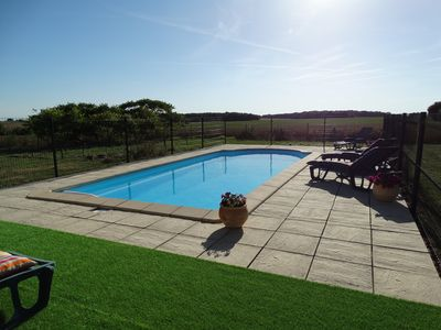 Photo for Self catering 6 pers. with pool in the heart of Touraine. 2 nights minimum