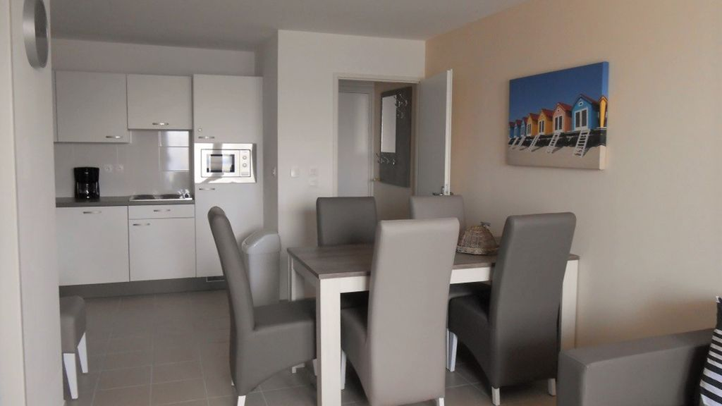 Appartement moderne au centre de Bray-Dunes