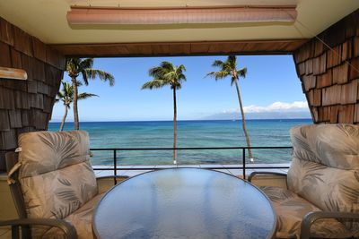 Enjoy this beautiful view from your private lanai