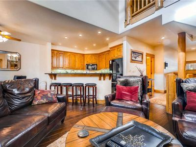 Photo for Cozy Mountain Townhome, Resort Amenities & a Friendly Staff!