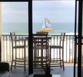 Photo for Gulf front condo w/indoor & outdoor pools, tennis courts, fitness room & sauna