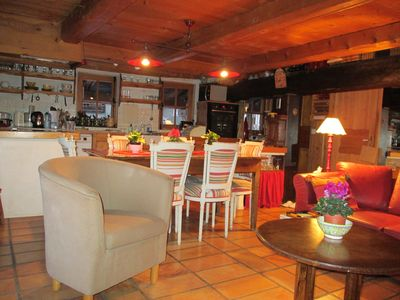 Photo for Authentic chalet between 2 ski areas