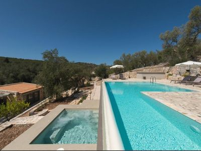 Photo for Paxos Resort Deluxe Suite - Adults Only - A/C, Swimming Pool with Jacuzzi only 900 m from the Beach!