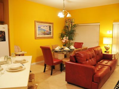 Photo for 4 Bedroom, 3 Bathroom Townhome at Coral Cay Resort! Just 6 miles from Disney!