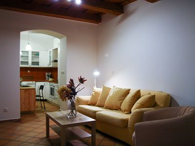 Photo for Fairy Tale Retreat with terrace Vsehrdova - Apartment for 4 people in Praha