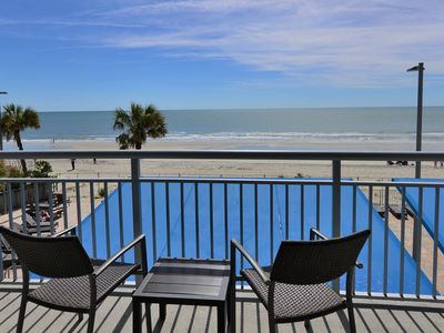 Photo for Ocean Front 1BD/2BA Modern Decor./ Spectacular View