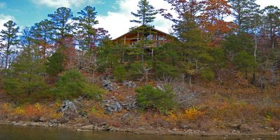 Photo for Whispering River - River Frontage & Panramic Views!