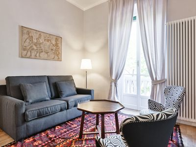 Photo for modern and sophisticated one bedroom apartment in Turin in the university area