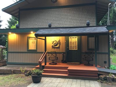 Photo for House In Secluded Forest Setting Near Old Town And Siuslaw Bridge