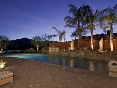 Photo for Luxury, Privacy, Unbelievable Mtn Views, Amazing Private Pool with Fountains -This Home has it all!