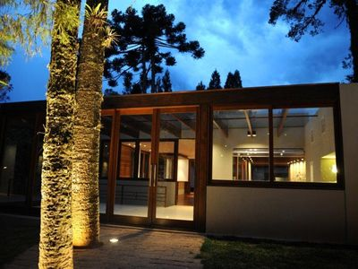 Photo for Luxury house in Campos do Jordão - in front of the park of the Valley Encantado. Beautiful!