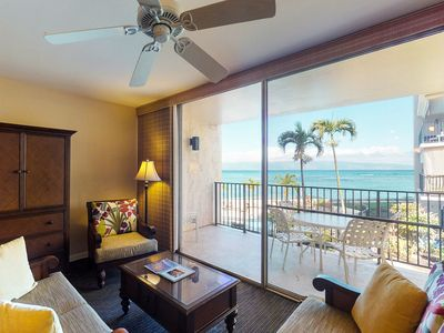 Photo for NEW! Contemporary Hololani oceanfront home w/shared pool & stunning views!
