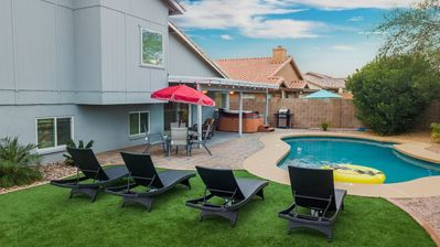 Photo for ❤️LUXURY Desert Oasis!!★GOLF DISCOUNTS★3500sf★POOL TBL & Game Room/ Summer Discounts!