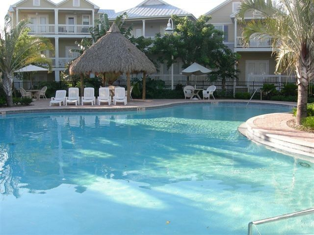 coral hammock pool in the early morning with the sun rising  craig  u0026 cindy u0027s key west 2 bdrm poolside co      vrbo  rh   vrbo