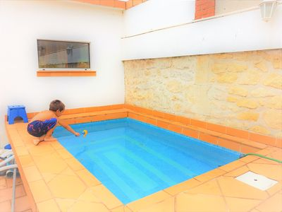 Photo for Superb house in the city center with pool, garage, air conditioning, 8 people, terrace