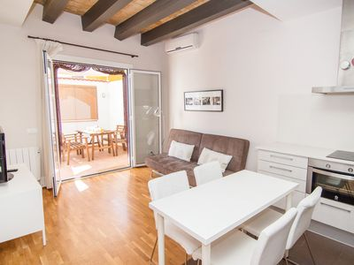 Photo for HABANA Adorable apartment in the center of Sitges with AC, WiFi and terrace