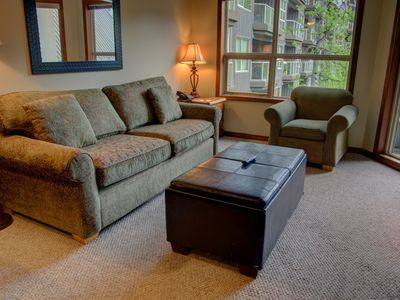 Photo for Prime Ski-in Ski-out Location! Pool, Hot tubs, BBQ, sleeps 6 (239)