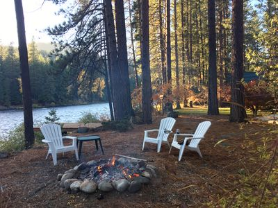 River S Edge Cabin On The Wenatchee River Great Recreation