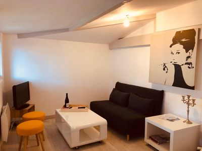 Photo for Pretty 25m2 maisonette with garden and terrace