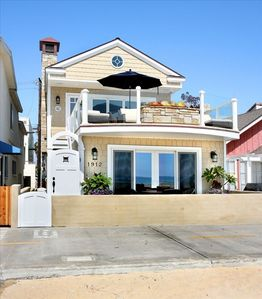 Photo for Oceanfront Beach House, Newport Beach