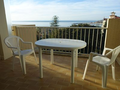 Photo for APARTMENT 2 ROOMS WITH TERRACE SEA VIEW AND PARKING - MENTON GARAVAN