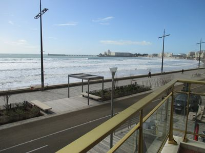 Photo for Luxury apartment T3 / T4. In the center of the beach.