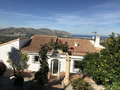 Photo for Beautiful Villa with Private Pool, Wrap Around Garden and Stunning Views