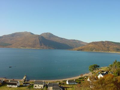 Photo for Glenelg - Detached House With Stunning Views Over the Sea to the Isle of Skye