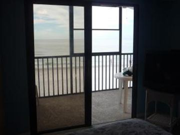 You can't get any closer to that beach than in our beautiful Gulf front condo!