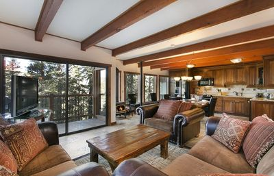 Photo for Premium Updated Modern 2 Bedroom 2.5 Bath Ski In Ski Out Corner Unit with Private BBQ