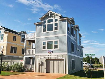 Photo for #CB1: OCEANSIDE Home in Corolla w/PRVTPool, HotTub, Elev, RecRm