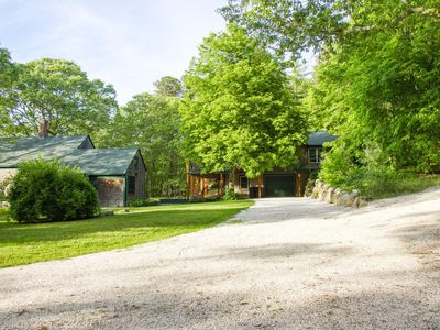 3.5 Acre Private. Antique house on left is unoccupied.