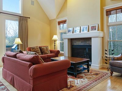 Photo for NEW LISTING! Charming & spacious, two-story townhome - close to Okemo!