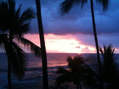 Photo for Kona Oceanfront Top Floor Condo 30ft from Shore - Amazing View, Wifi, A/C