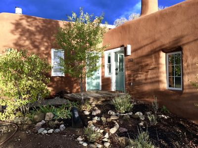 Photo for Historic Taos Adobe Overlooking Lush Valley