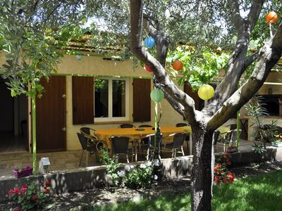 Photo for Villa holiday Cabasson 2 steps from the beach (town of Bormes les Mimosas)