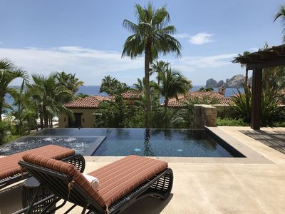 Photo for PRIVATE infinity pool and spa 3BR at Hacienda Beach Club overlooking PARADISE