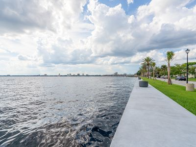 Photo for Luxury Riverfront Ground Floor Condo in Historic San Marco Near Downtown Rare