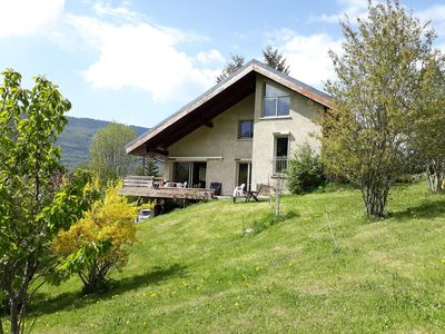 Photo for Quiet house, sunny, near village, sleeps 4, 180m2, large volumes