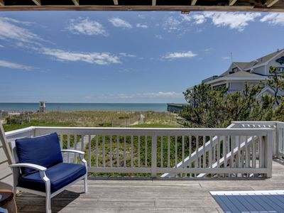 Photo for A Long Walk - 3 bedroom oceanfront townhouse sleeps 9