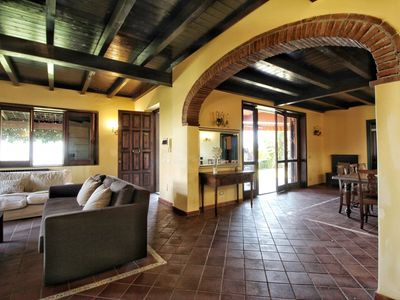 Photo for Villa Alexander: comfort, panorama and private swimming pool surrounded by a garden.