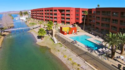 Photo for PENTHOUSE LUXURY RIVERFRONT CONDO 3I, LAUGHLIN CASINO VIEWS,  1 King, 2 Queen