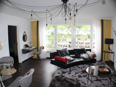 Photo for Moselapart 3 Deluxe Apartment with Moselle View
