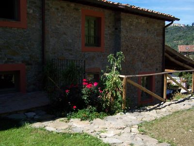 Photo for Nice, comfortable holiday home with terrace, on the hills near Lucca